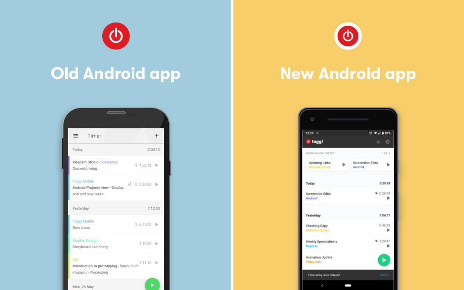 app android toggl